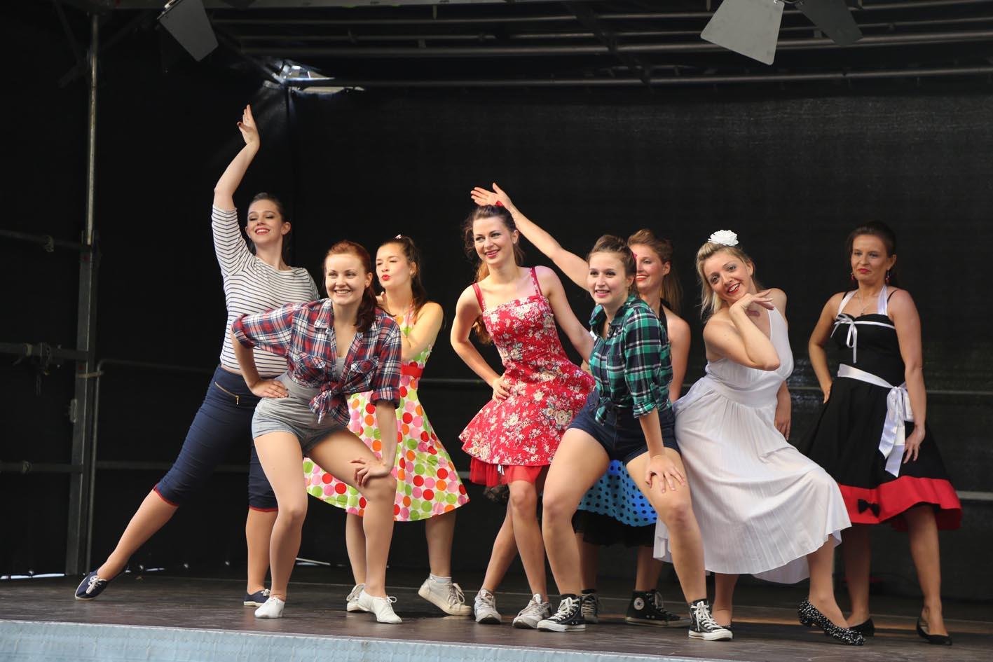 Tanzshow Corinna Runge